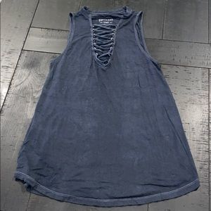 American Eagle Outfitters Soft Sexy Lace Up Tank